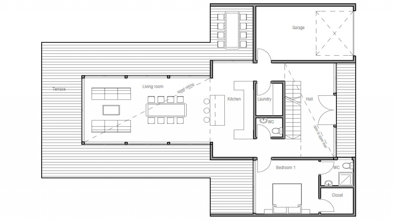 Contemporary House Floor Plans Contemporary Small House