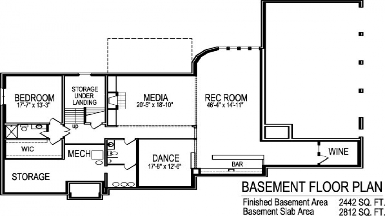 2 bedroom ranch house plans 2 bedroom house plans with for 5 bedroom ranch house plans