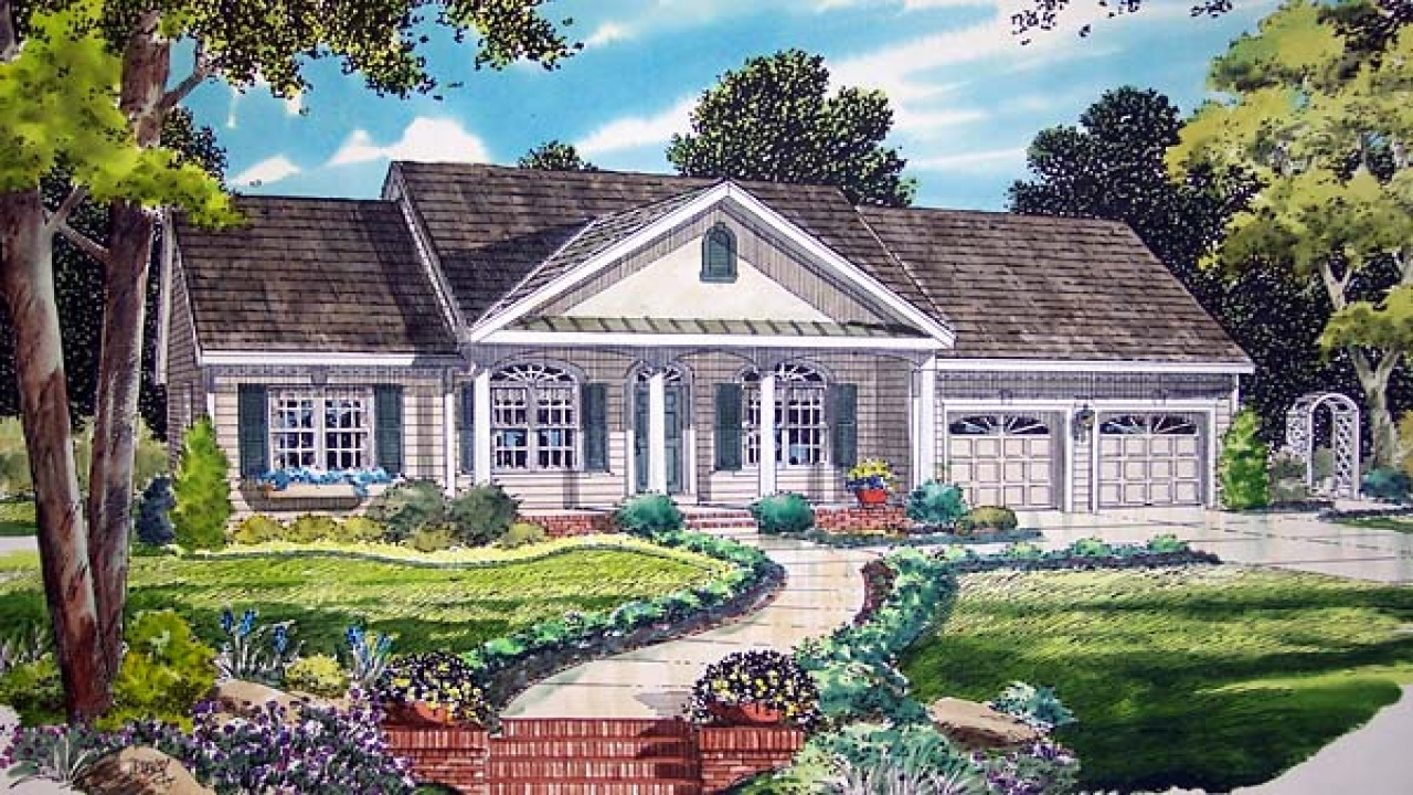 Simple southern house plans southern ranch style home for Southern style ranch home plans