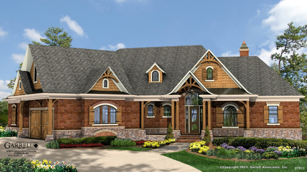 Lake House Plans Walkout Basement Lake Cottage House Plans