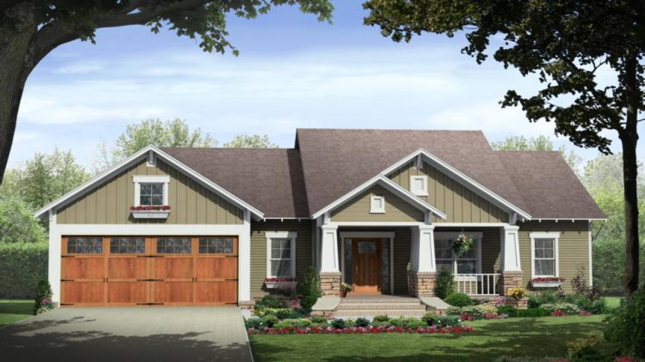 Home style craftsman house plans 1960 ranch style homes for 1960 ranch house plans
