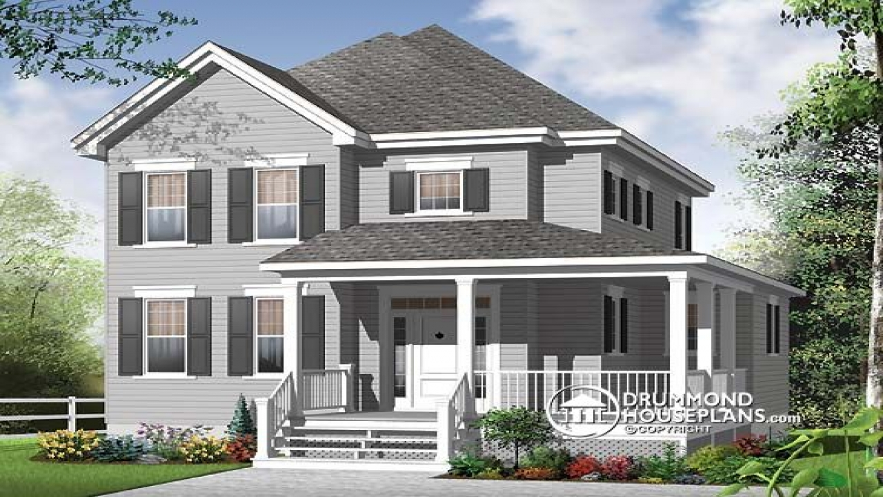 Old fashioned house plans with porches old southern for Old fashioned house plans