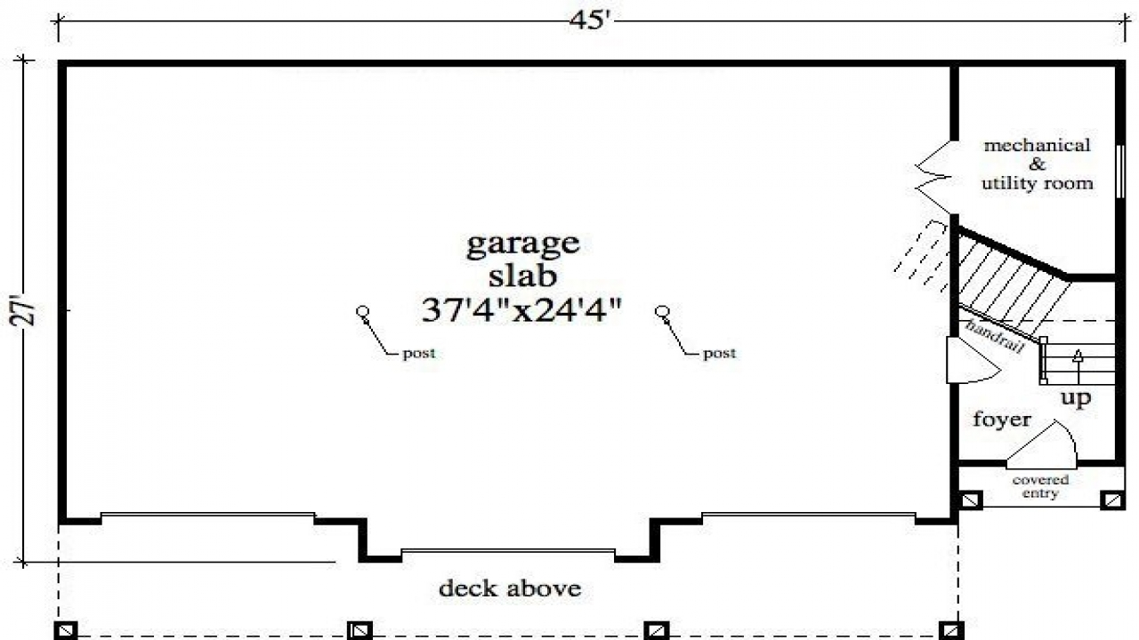 2 story garage apartments plans bay garage with apartment for California garage plans