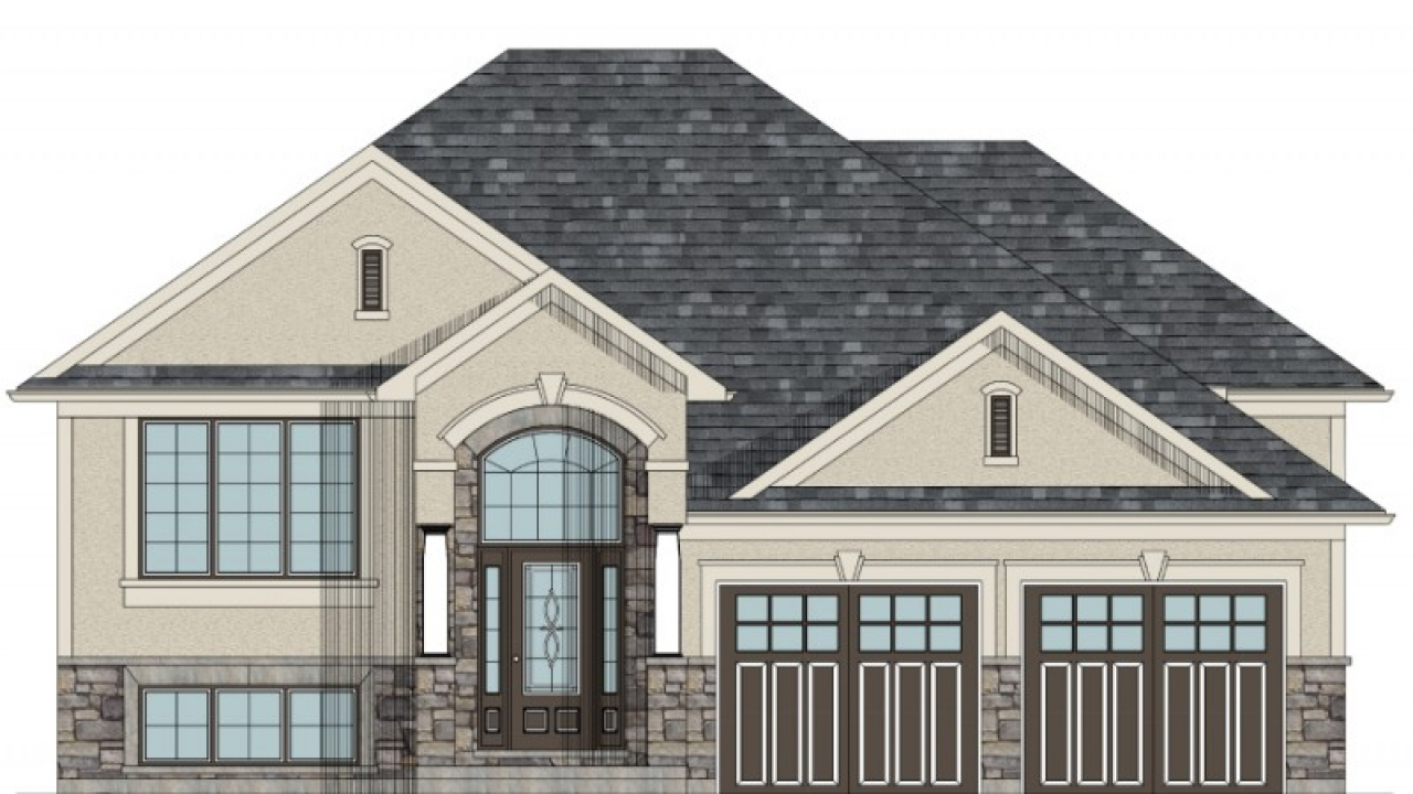 French Country Louisiana House Plans Raised Bungalow House