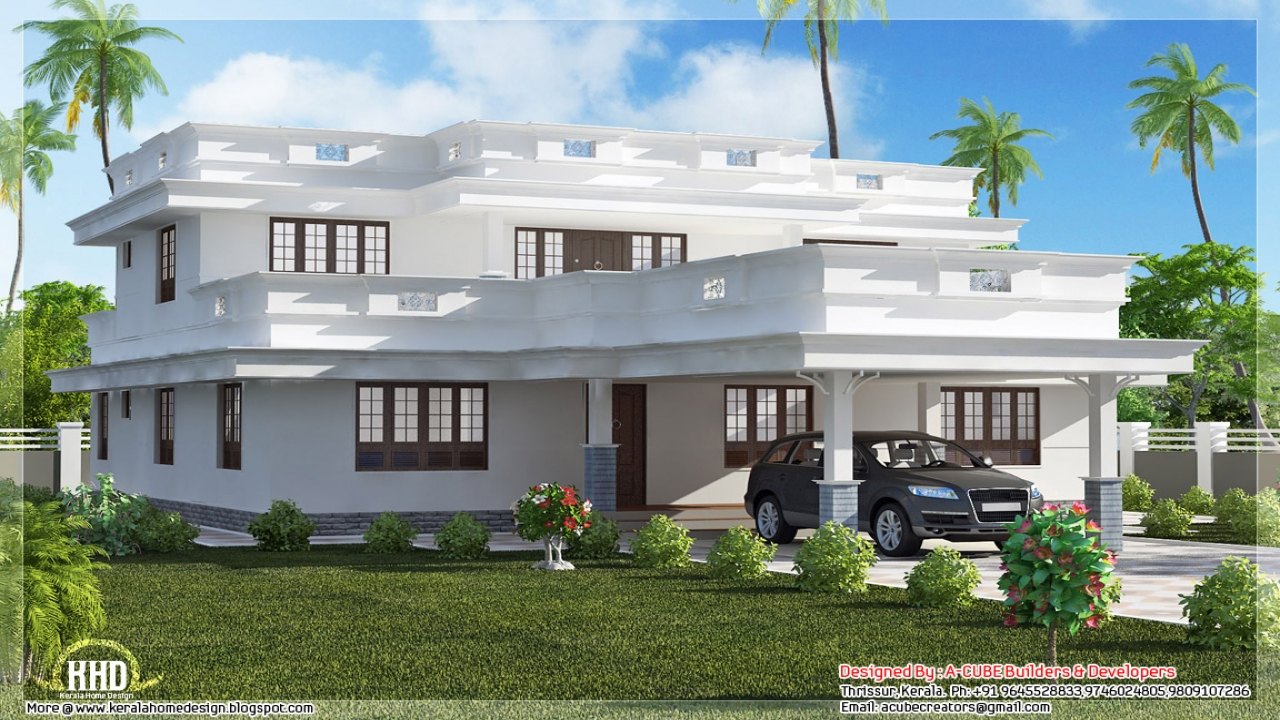 Flat roof house designs modern house designs in kenya for Roofing designs in kenya