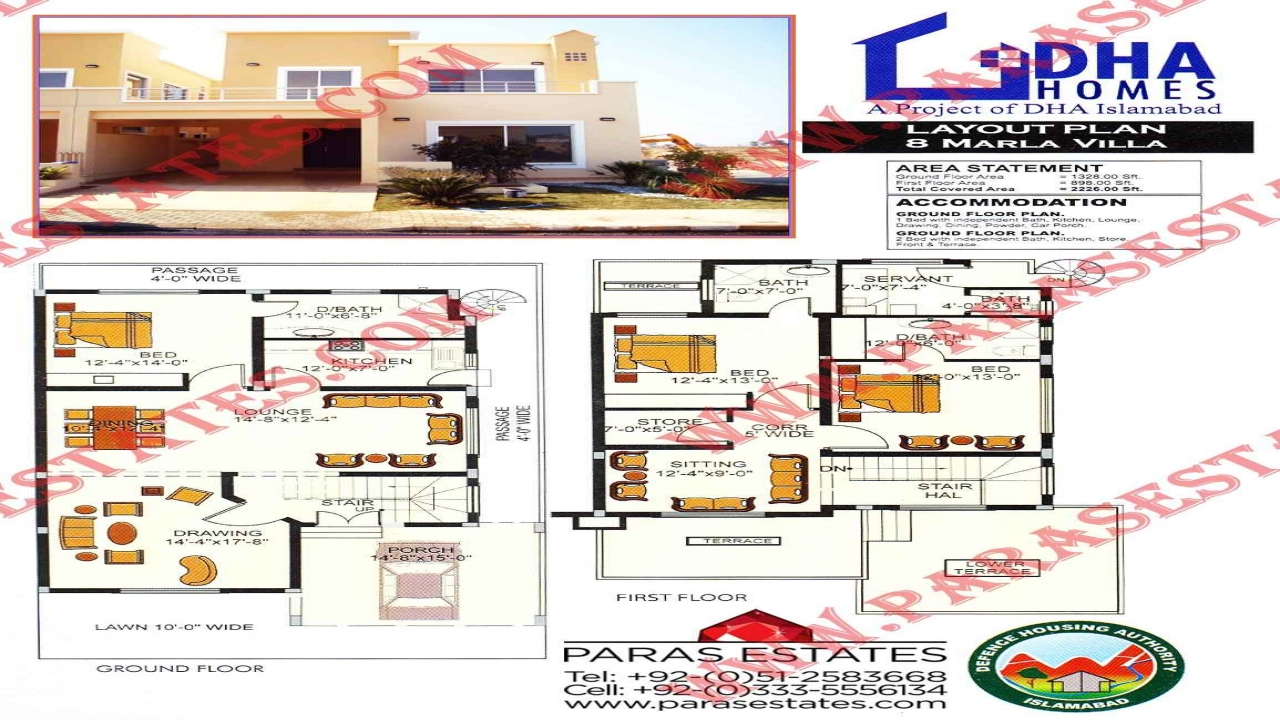 5 marla house map design 5 marla house drawing villa House map drawing images