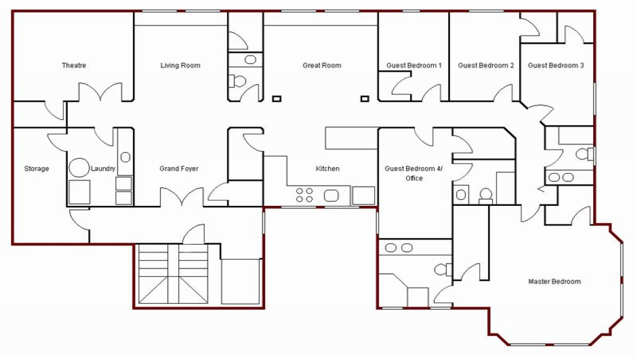 create your own floor plans create simple floor plan draw your own floor plan simple floor plans for homes treesranch com 4571