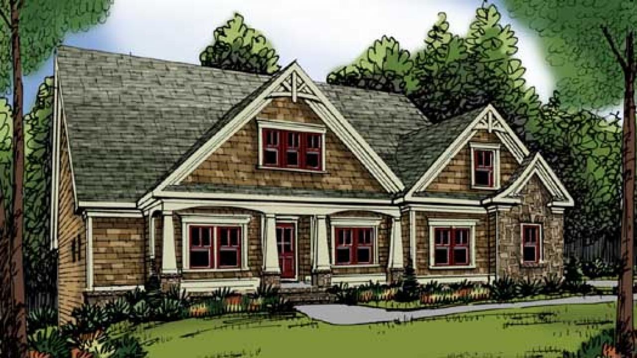 1 Story Craftsman Style Homes One Story Craftsman Style