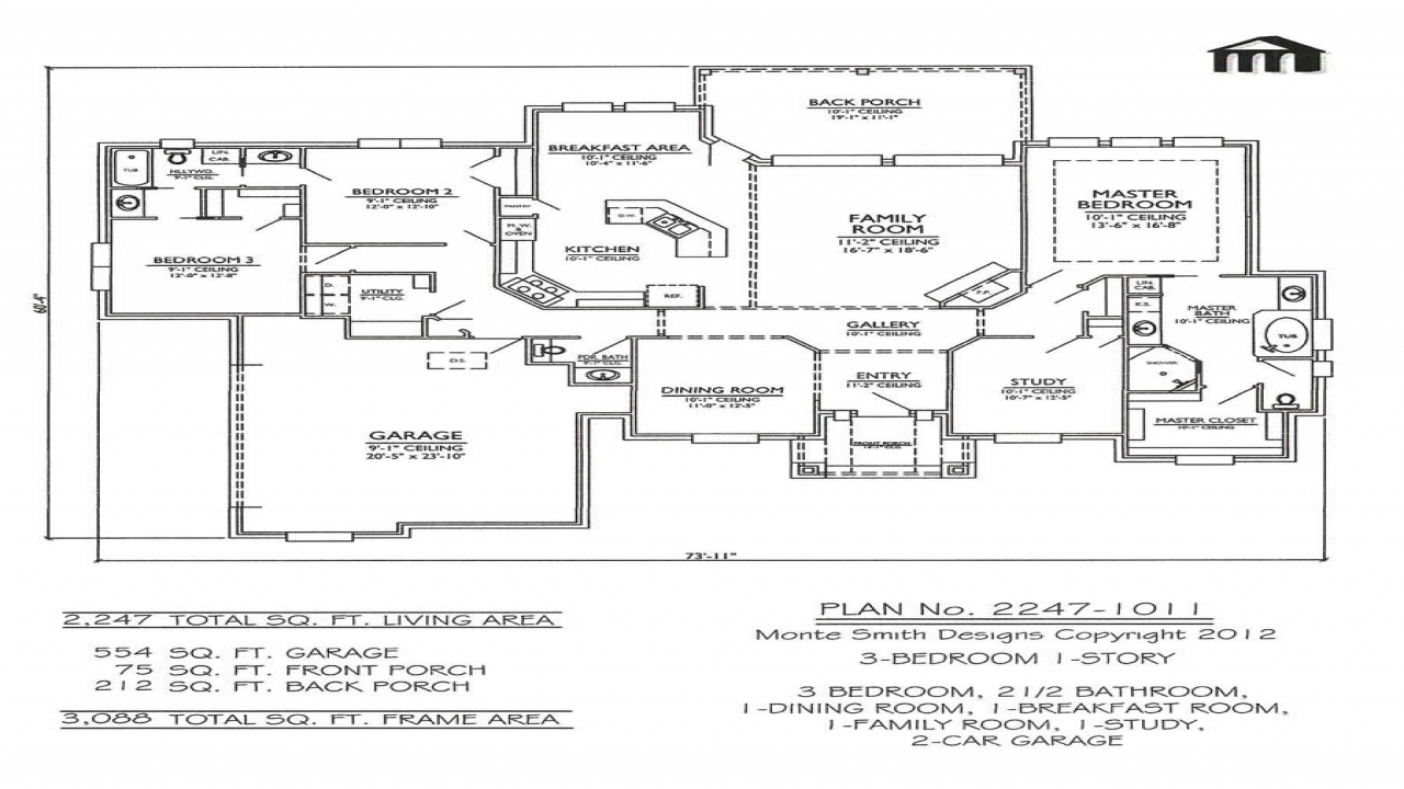 Two Story House Plans With Loft  Bedroom House Plans Vdara Two Bedroom Loft 3