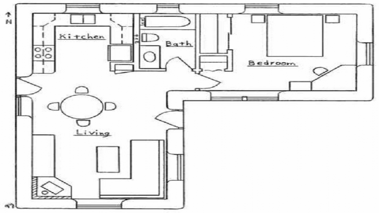 l shaped house floor plans l shaped house floor plans small l shaped houses small house plans designs treesranch com 4004