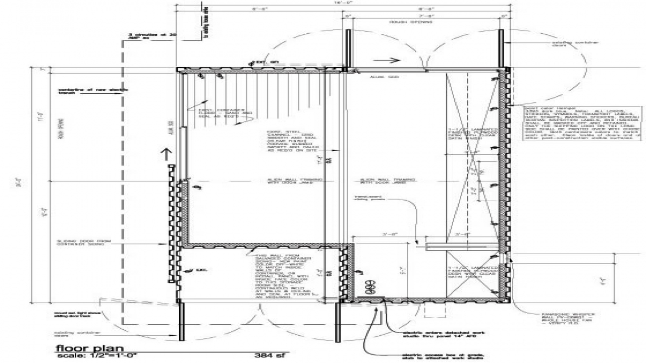 Shipping container home plans underground shipping for Seattle house plans