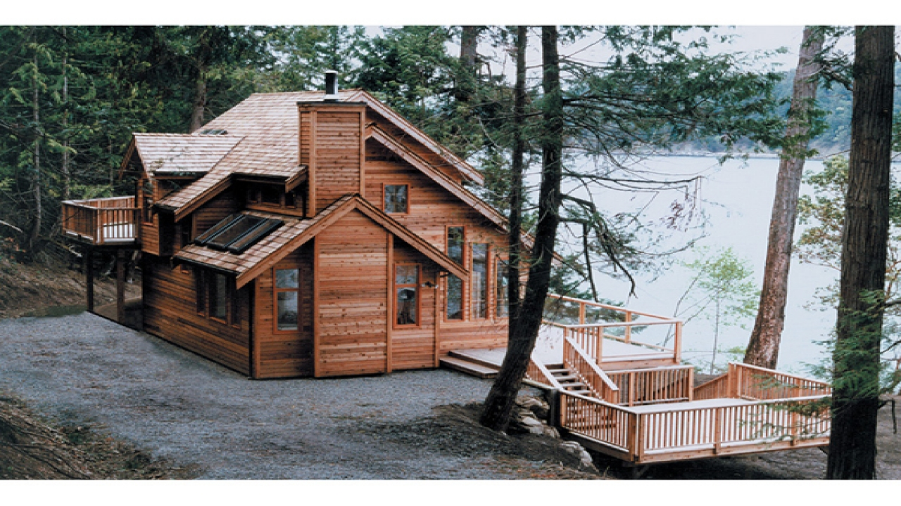 Narrow lakefront house plans small house plans lakefront for Lakefront modular home plans