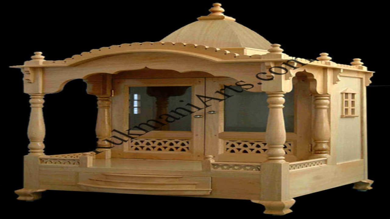 Wooden temple designs for home small temple for home wooden home designs for Wooden temple for home designs