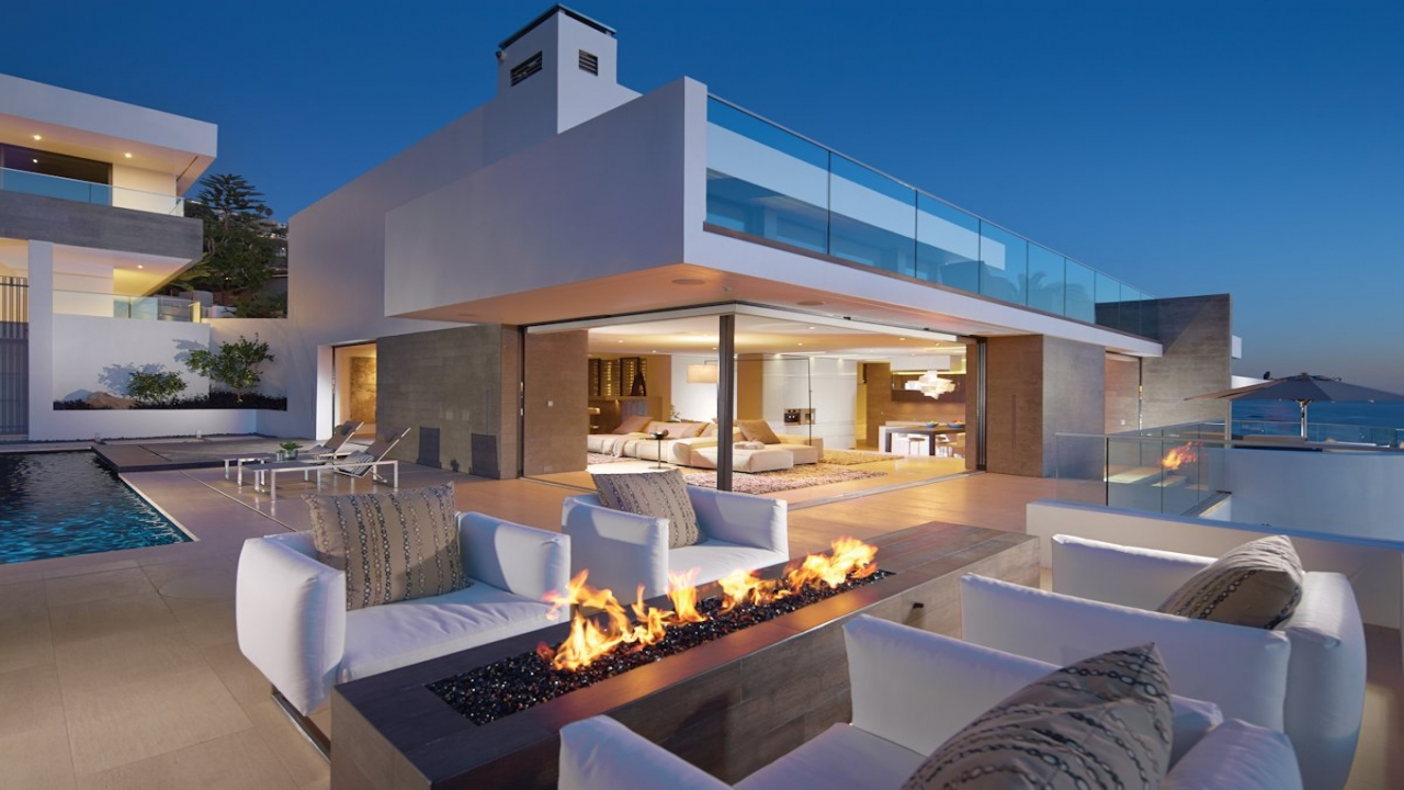 Top ten coolest houses best beach house in california for Great beach house designs