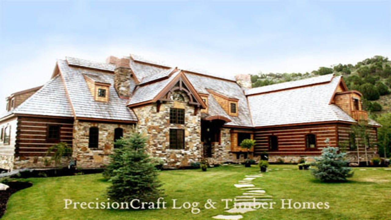 Award winning log home plans the log home floor plan blog for Award winning home designs 2012