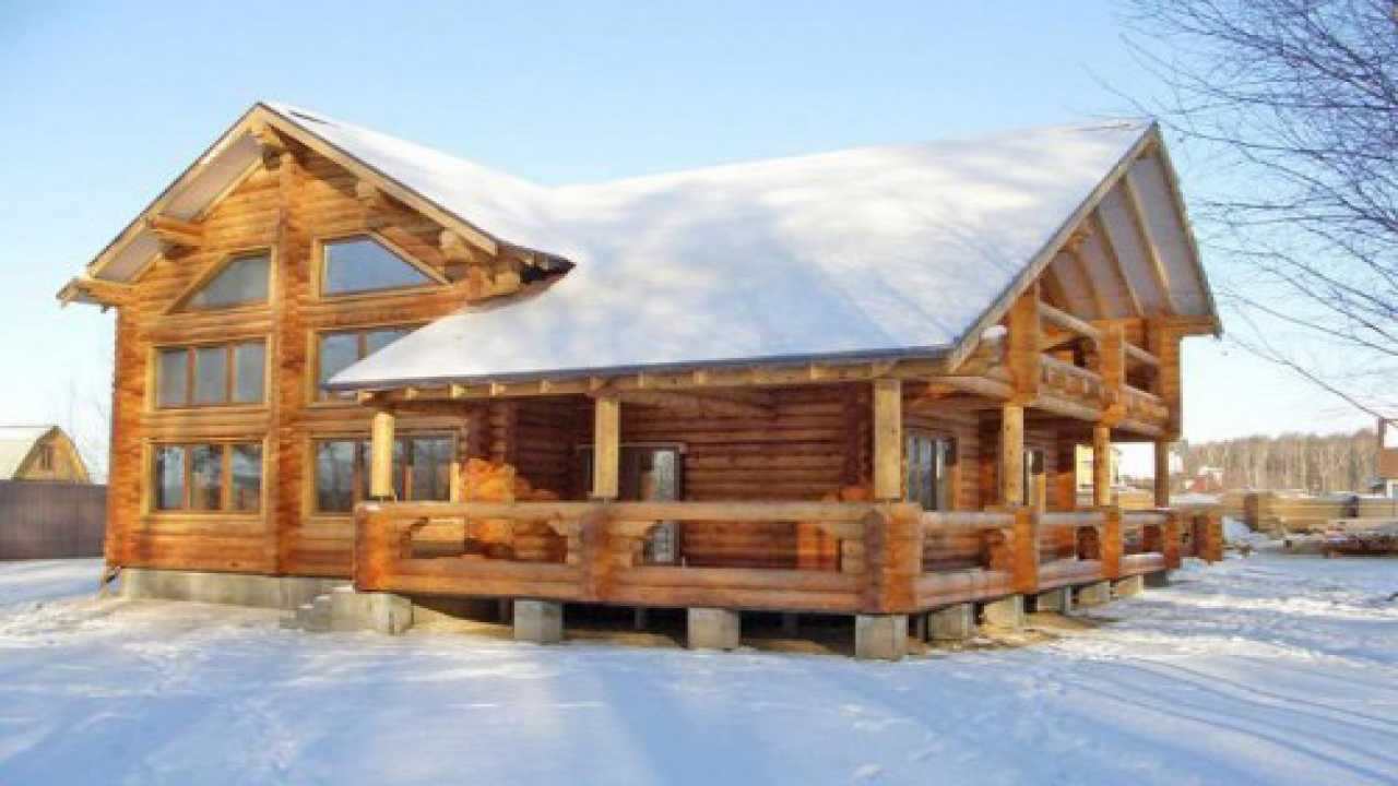 Modern Log Cabin ~ Simple log cabins modern cabin home plans