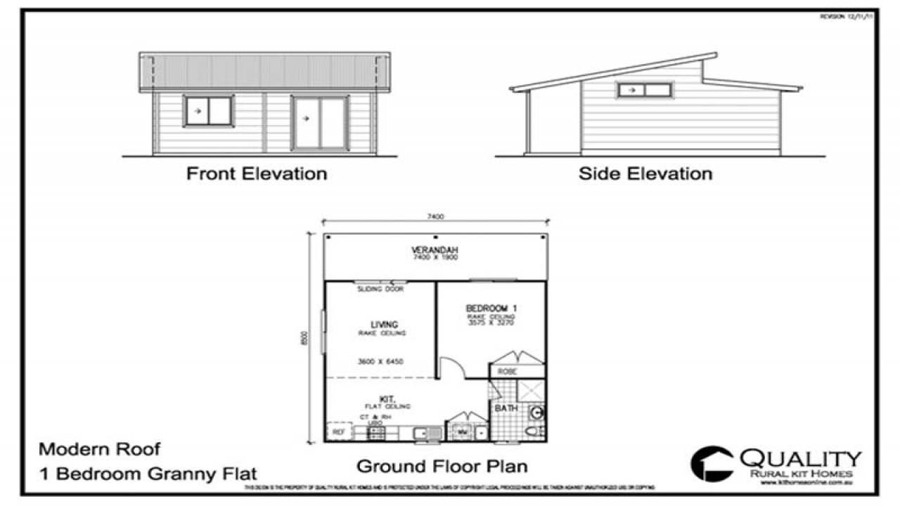 Brochure amp pricing for this 1 bedroom granny flat steel for Granny flat floor plans 1 bedroom