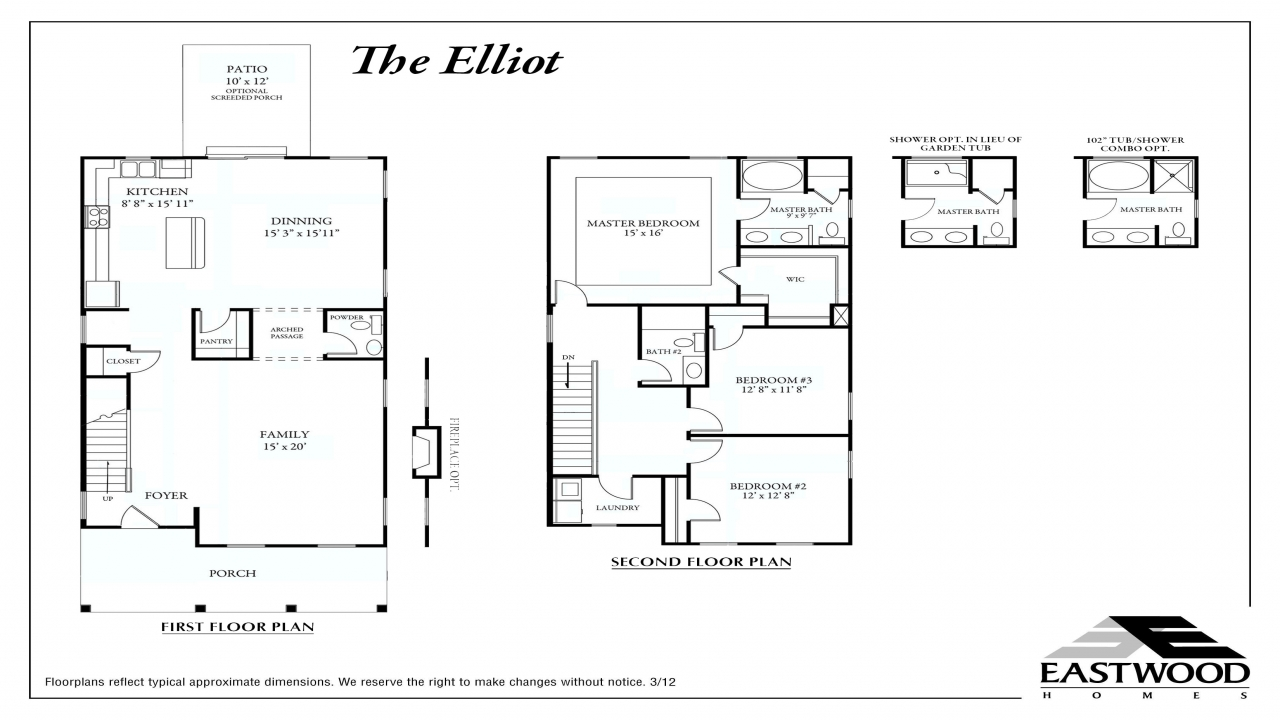 Home floor plans with detached garage american floor plans for American garage floor