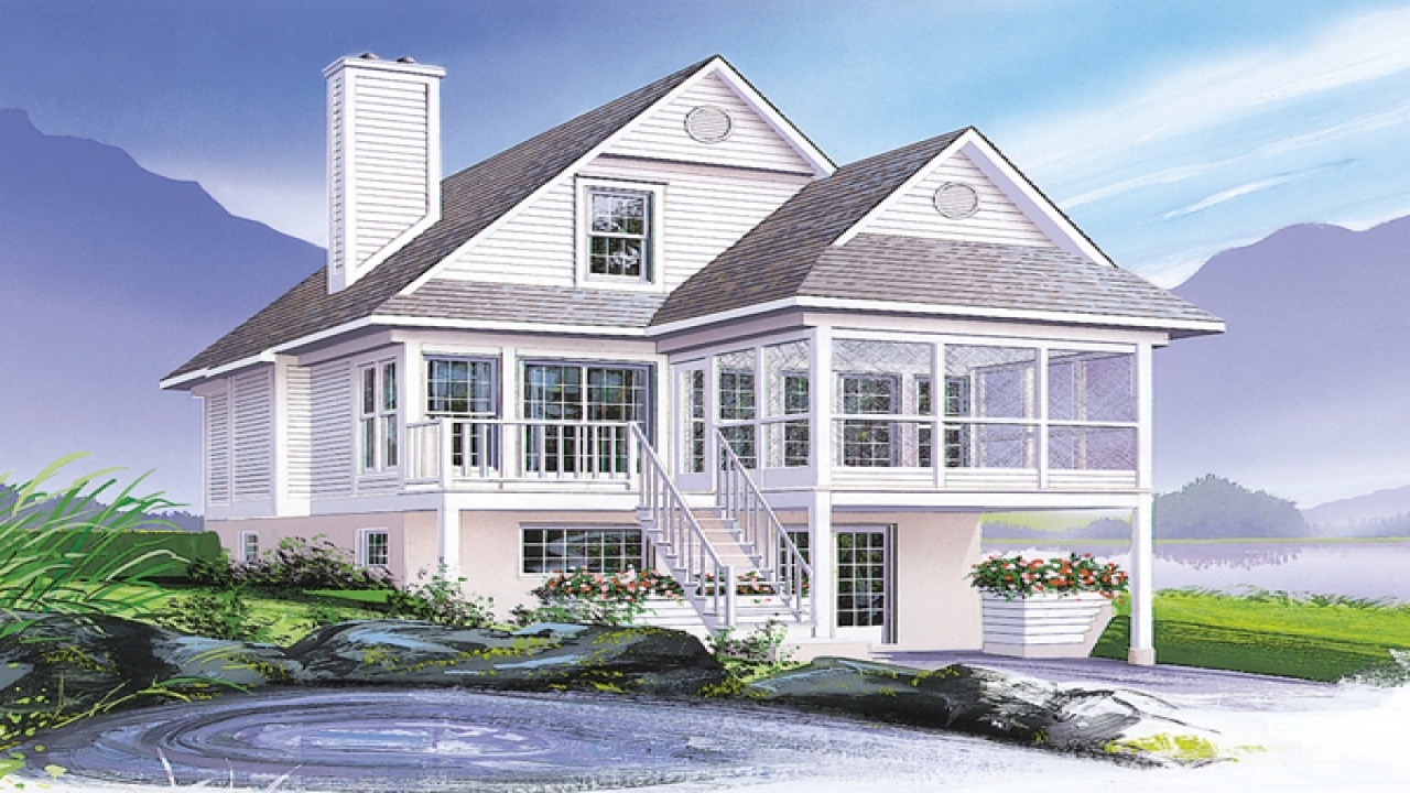 Coastal victorian cottage house plan small coastal cottage for Small coastal cottage house plans