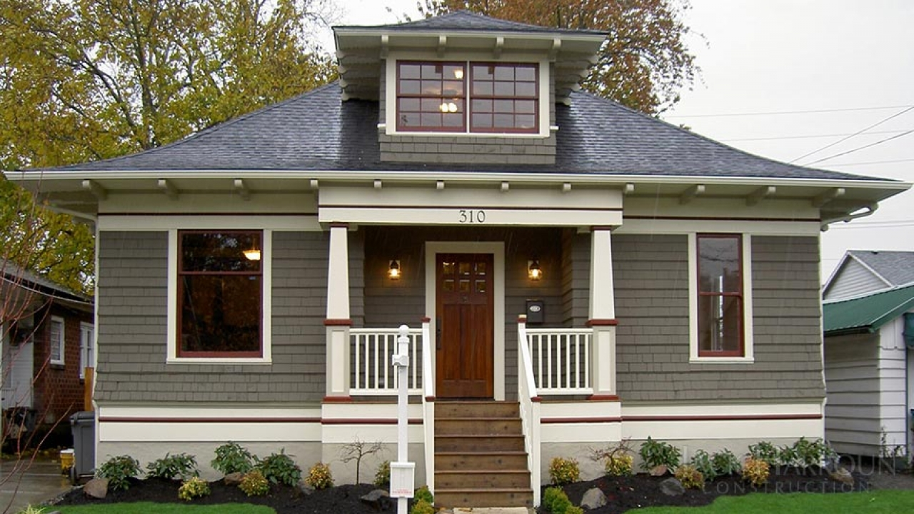 Craftsman bungalow renovation craftsman bungalow house - What is a bungalow house ...