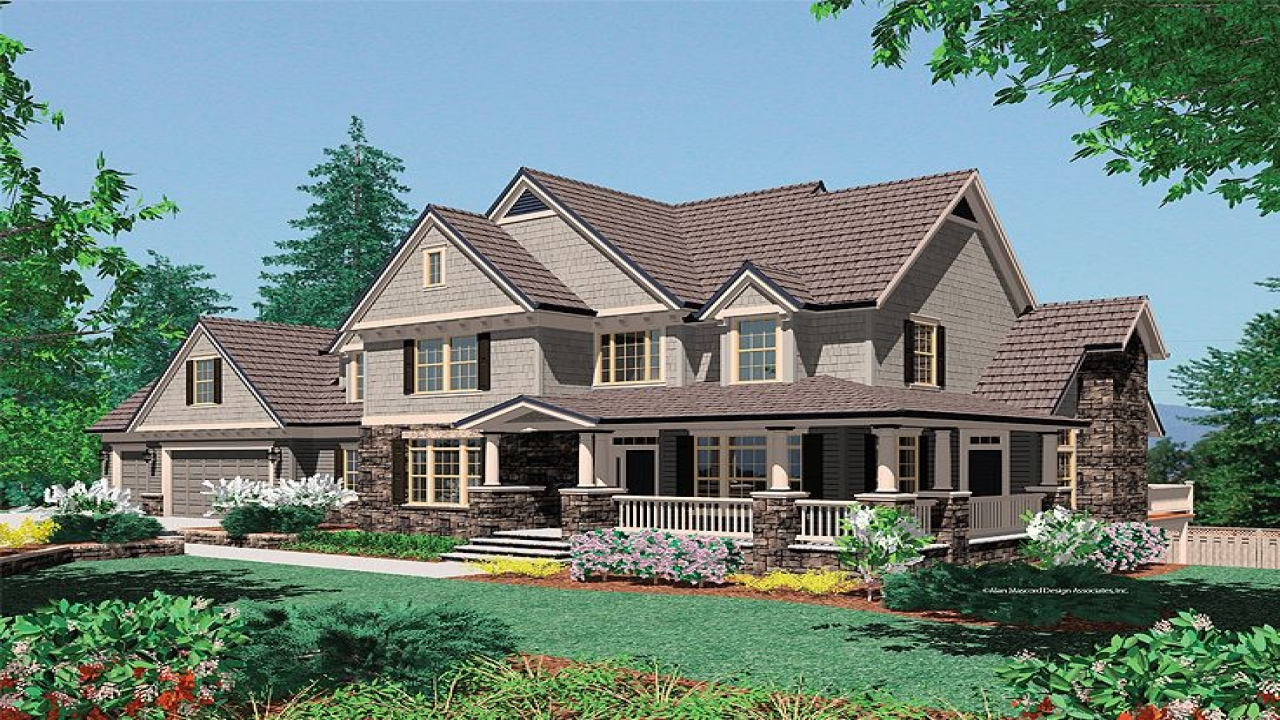 Functional craftsman house plans country craftsman house for Country craftsman home plans