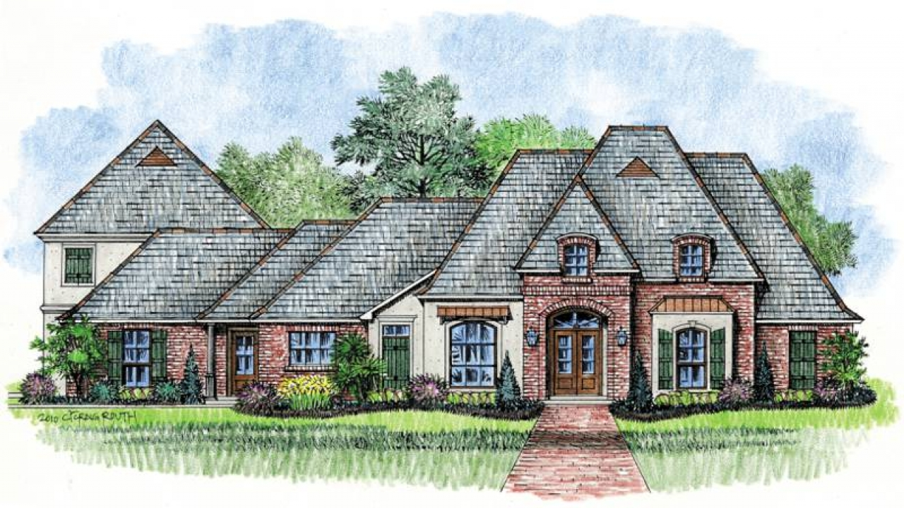 Rustic Country House Plans French Country House Plans