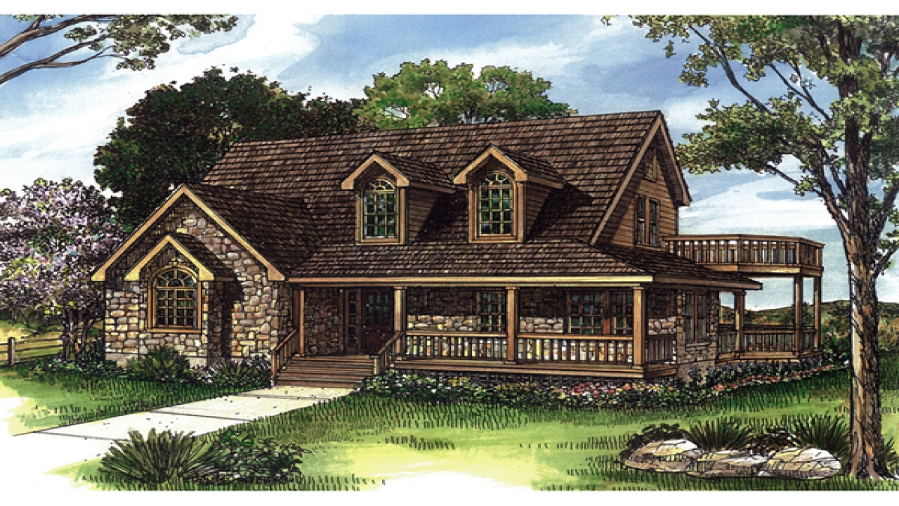 Waterfront homes house plans elevated house plans for Elevated house plans