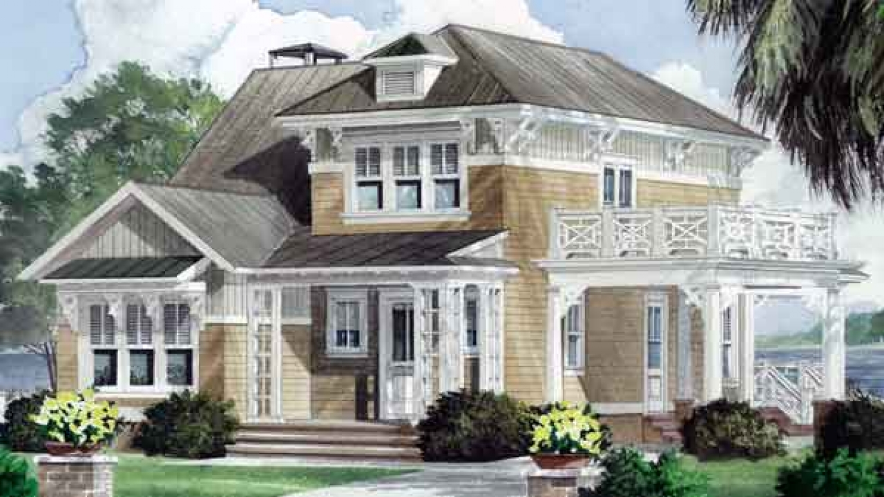Lake house plans southern living southern living house for Southern living farmhouse