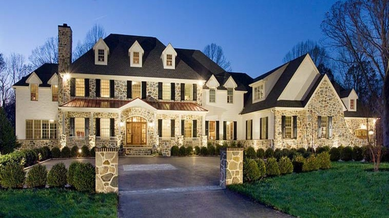 Luxury homes mansions luxury mansion home plans lake for Luxury house builders