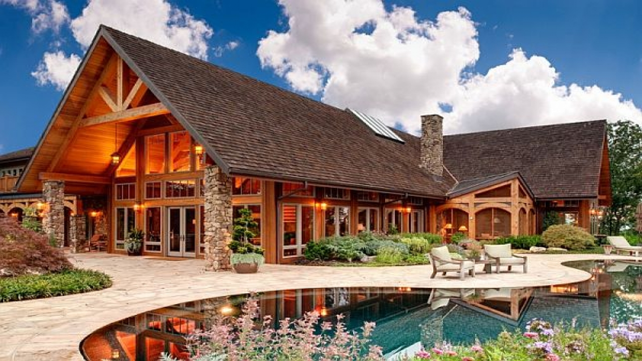 Luxury mountain home design rustic mountain home plans for Luxury mountain home plans