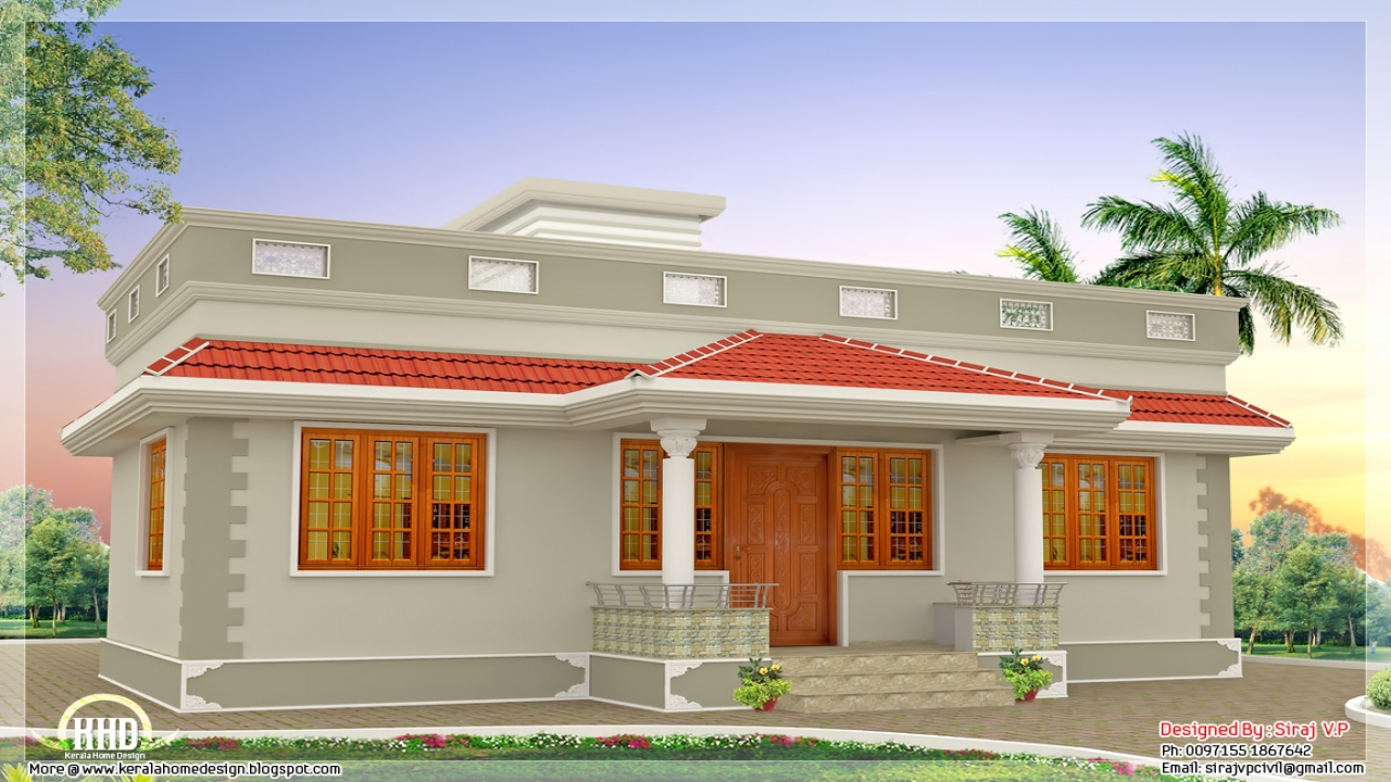 Single Floor House Elevation Kerala Single Floor House, 6