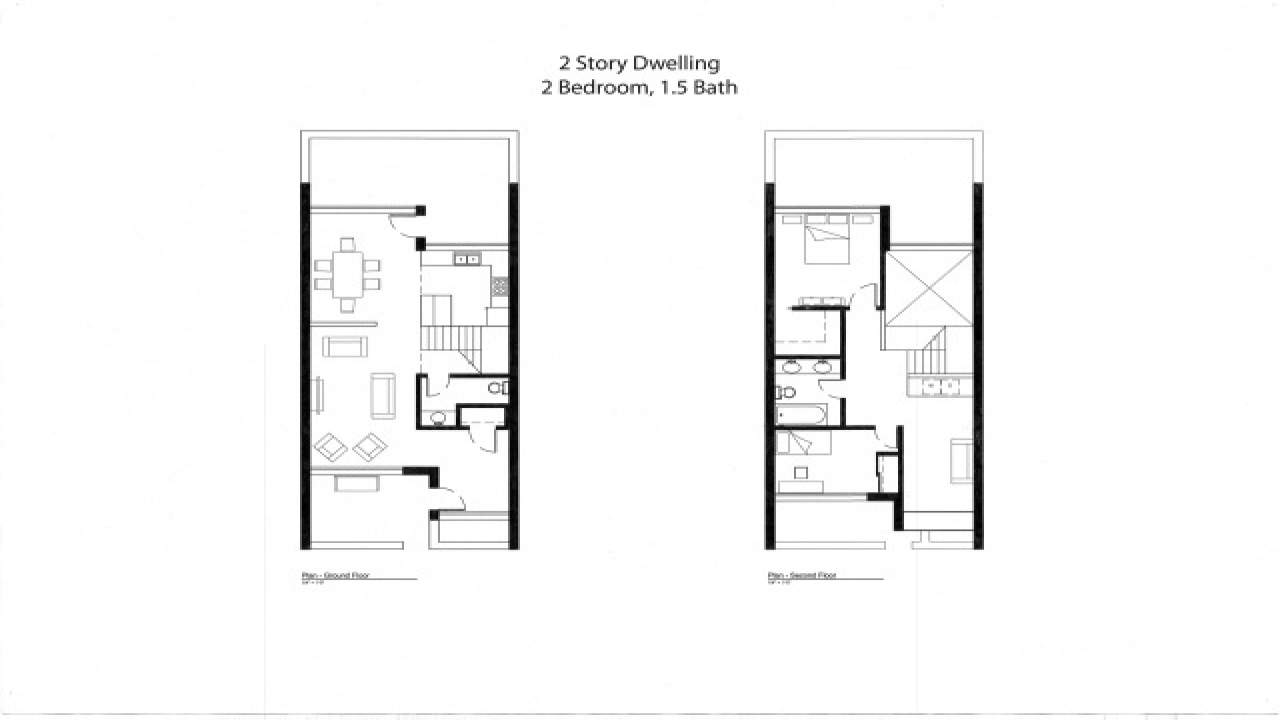 Small house plans under 1000 sq ft 3d small house plans for Small townhouse floor plans