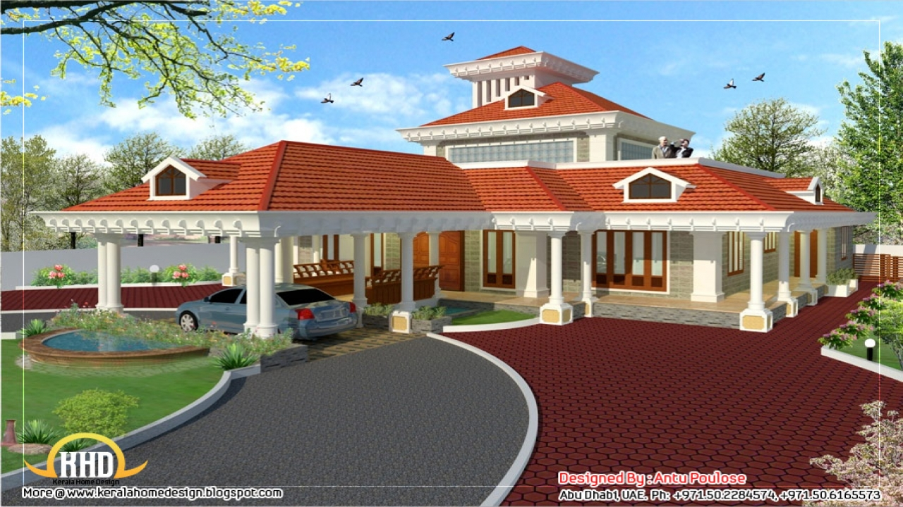 Traditional kerala house designs old houses in kerala for Traditional house designs in india
