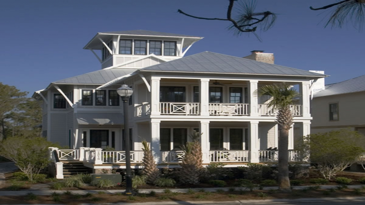 Coastal beach house plans coastal vacation house plans for Free vacation home plans