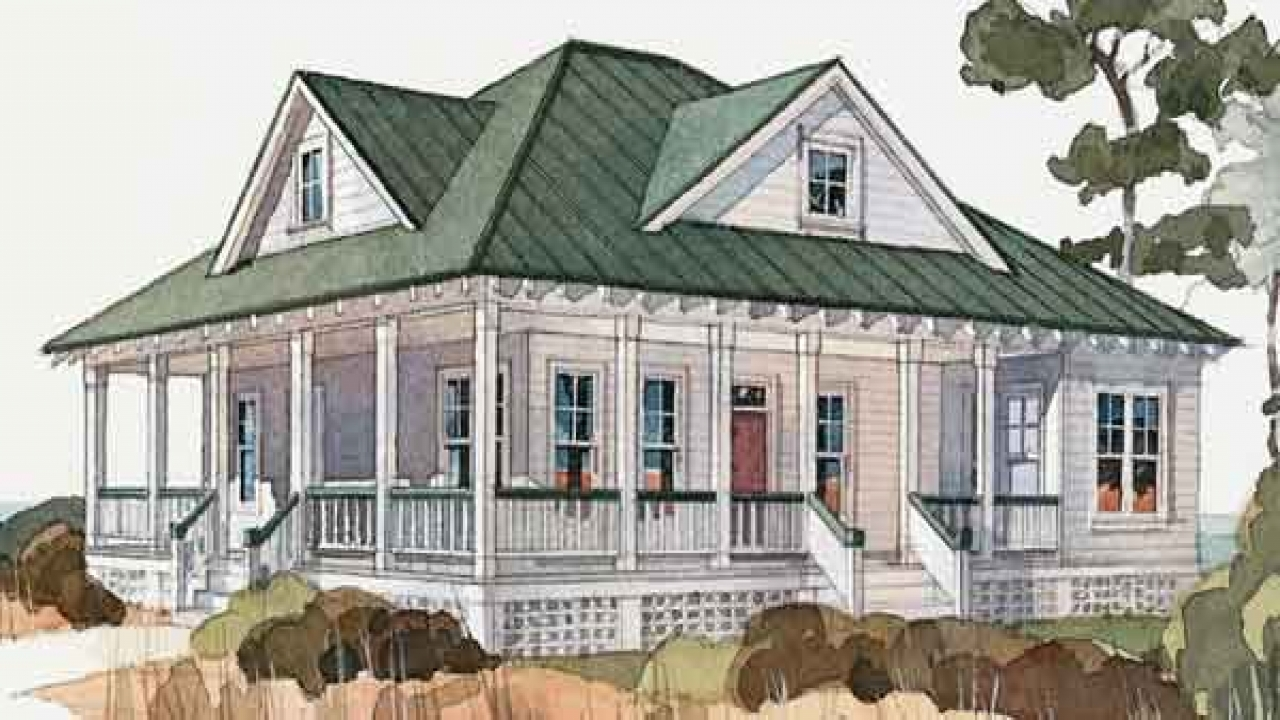 Cottage house plans with wrap around porch cottage house for Florida cracker house plans wrap around porch