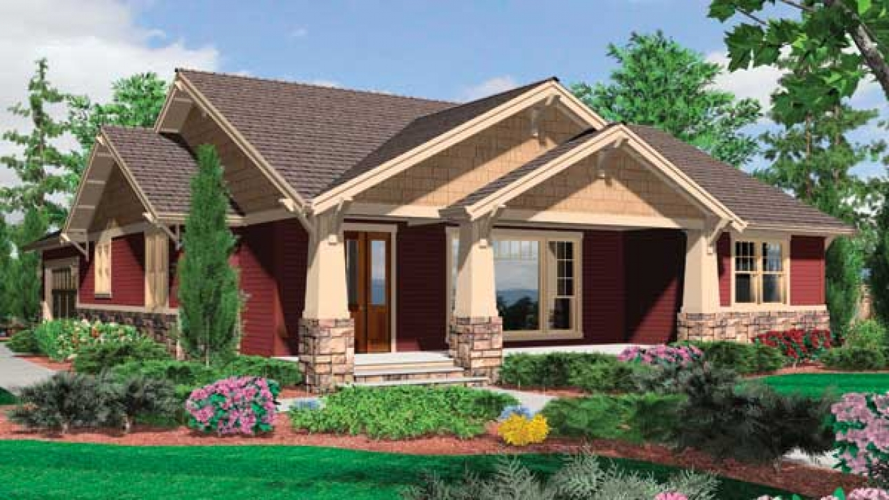 Craftman style house craftsman style bungalow house plans for Mission style bungalow house plans