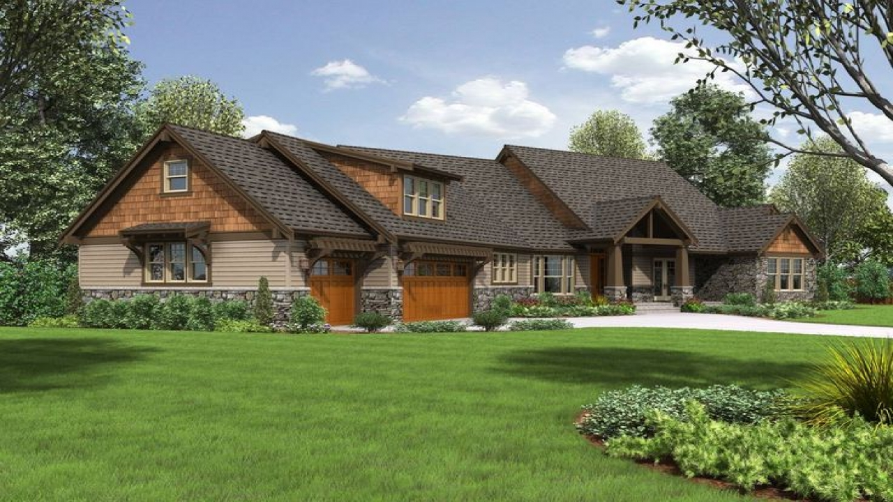 Craftsman Ranch Plans Craftsman Style Ranch House Plans ...