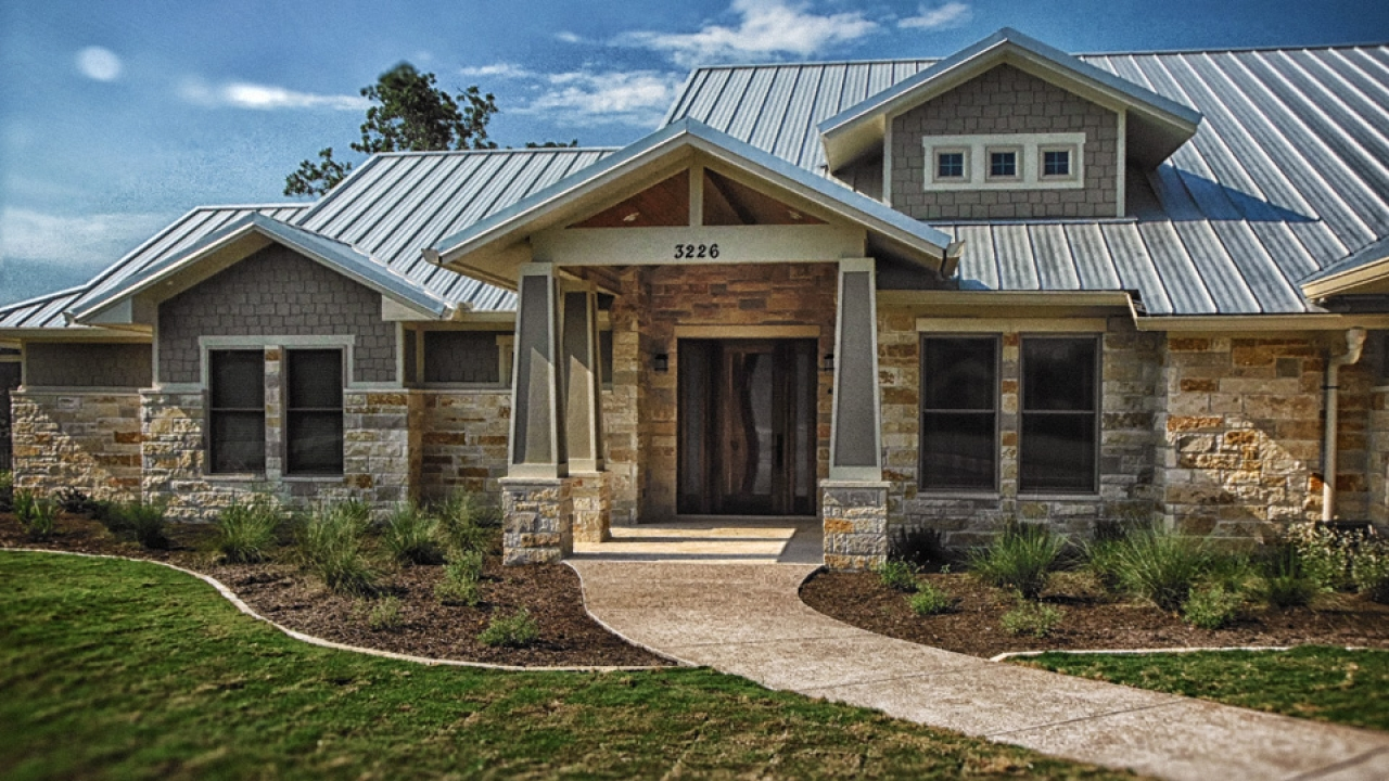unique luxury home car designs | Custom Ranch Home Designs Modern Ranch Style Homes ...