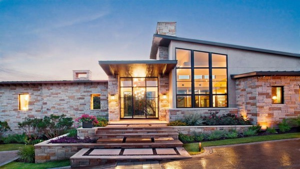 Hill Country Custom Home Plans Texas Hill Country Modern