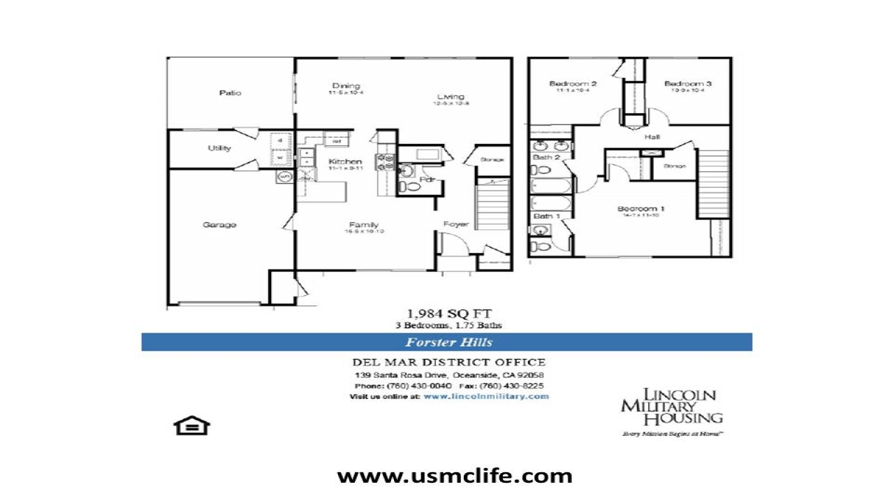 Camp Foster Housing Floor Plans: Military Housing Floor Plans Wiesbaden Army Housing Floor