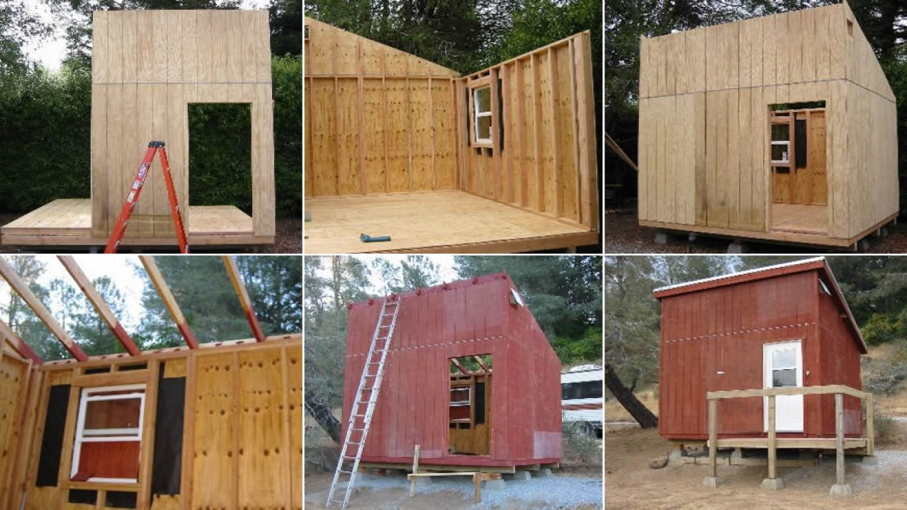 Do It Yourself Building Plans: Mini Cabin Plans Do It Yourself Cabin Plans, Mini House