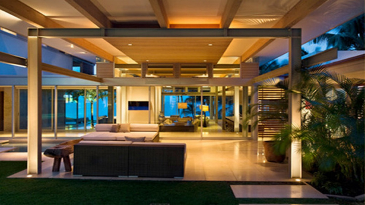Modern Tropical Interior Design Modern Traditional