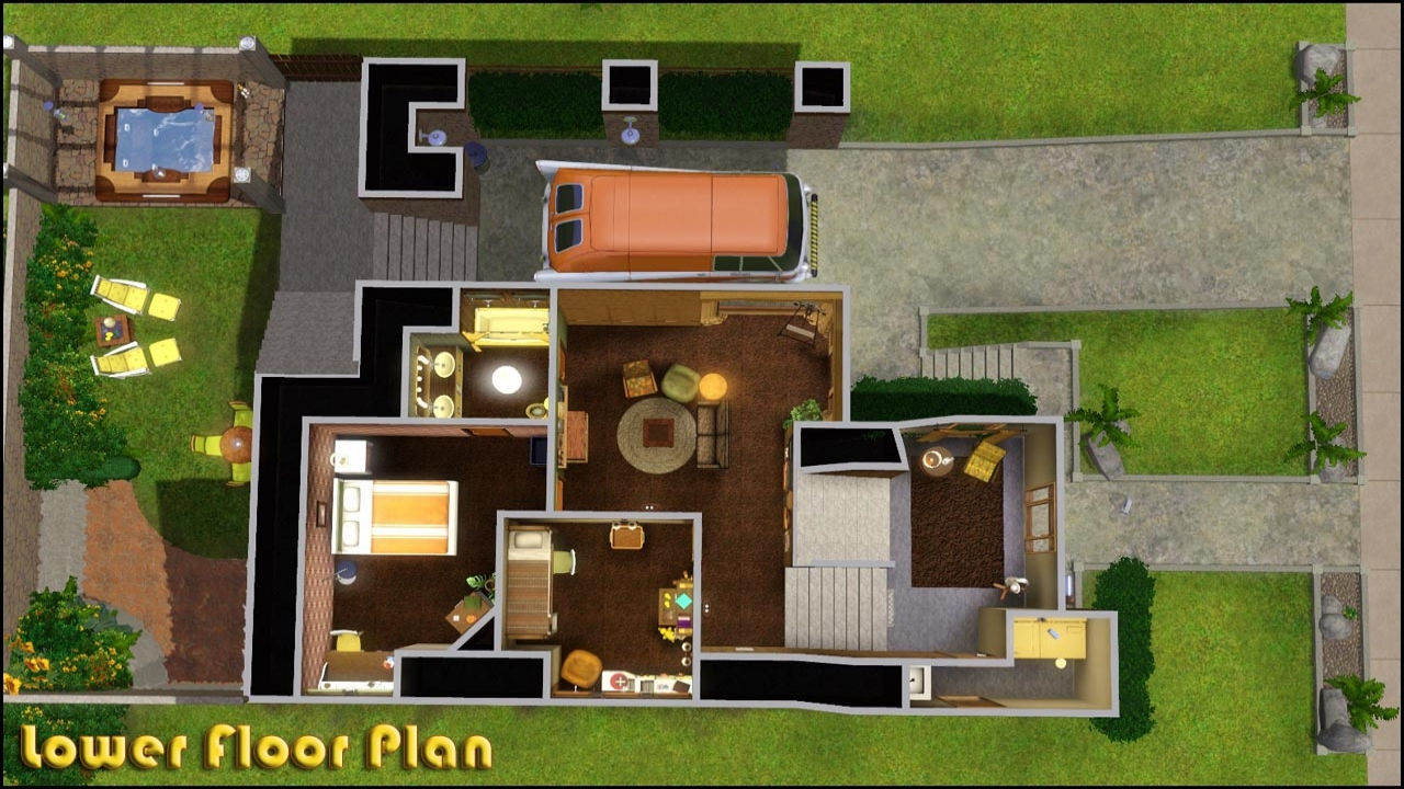 Sims 3 Modern Mansion Floor Plans: Sims 3 Baby Stuff Sims 3 House Floor Plans, Modern Family