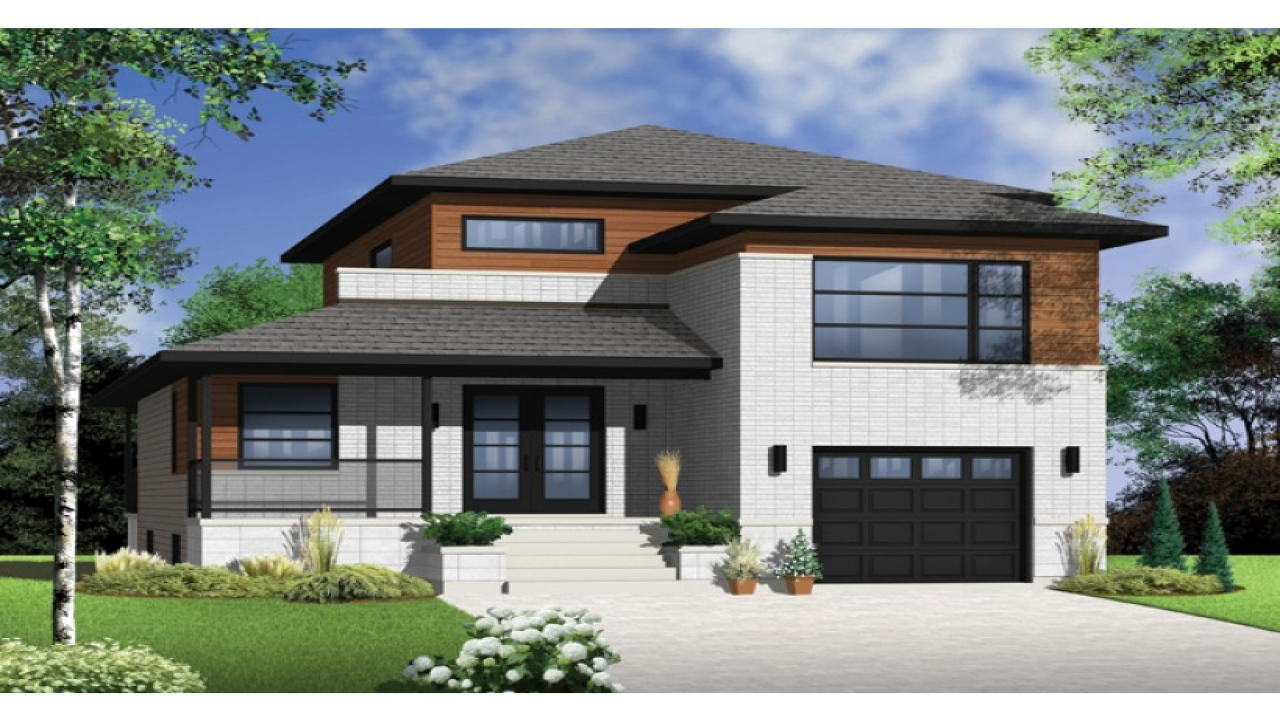 Small narrow lot house plans narrow lot house plans with for Narrow lot house plans with front garage