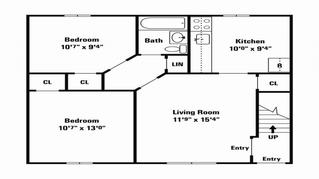 Small single wide mobile home floor plans 16 39 single wide for Small double wide floor plans