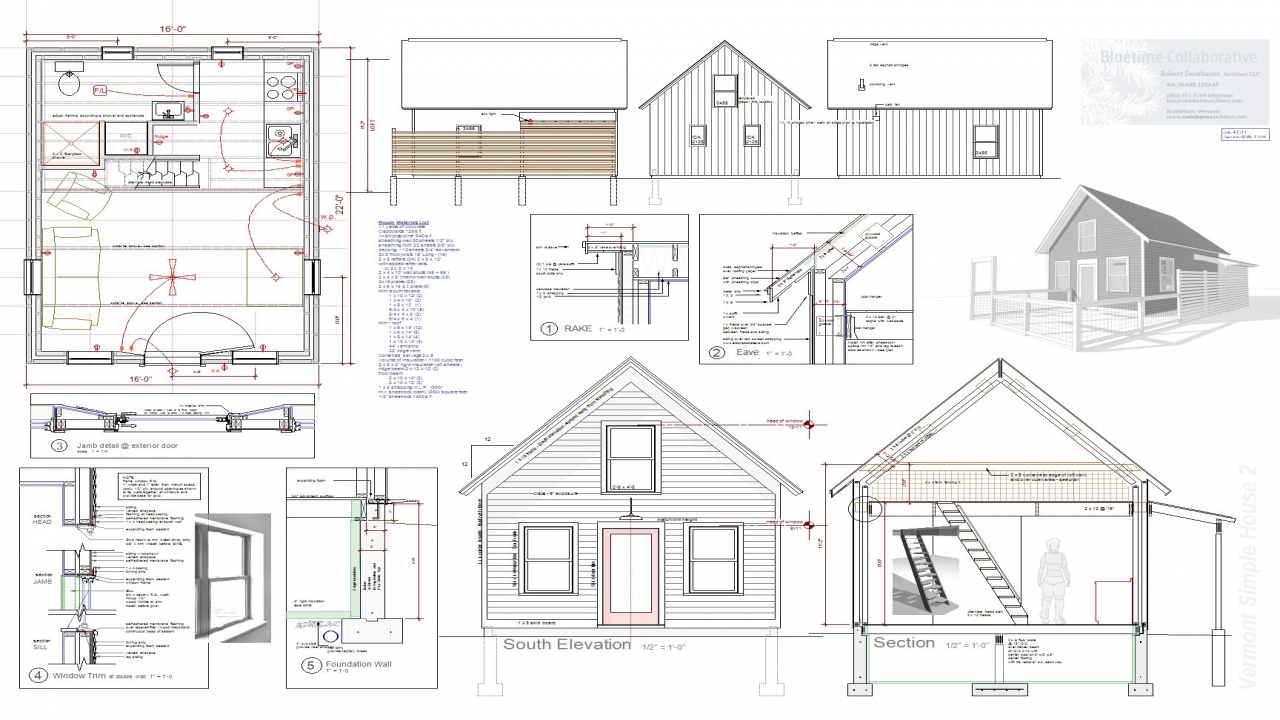 Tiny solar house plans small tiny house plans tiny house for Solar cottage plans