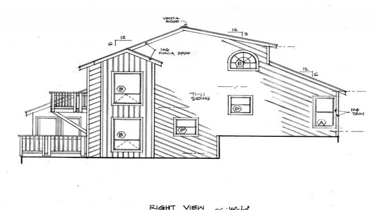 Contemporary passive solar house plans coastal for Modern passive solar house plans