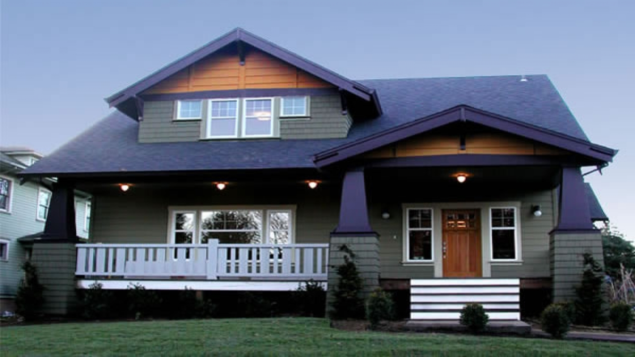 Craftsman Bungalow Style Home Plans Ranch Style Homes