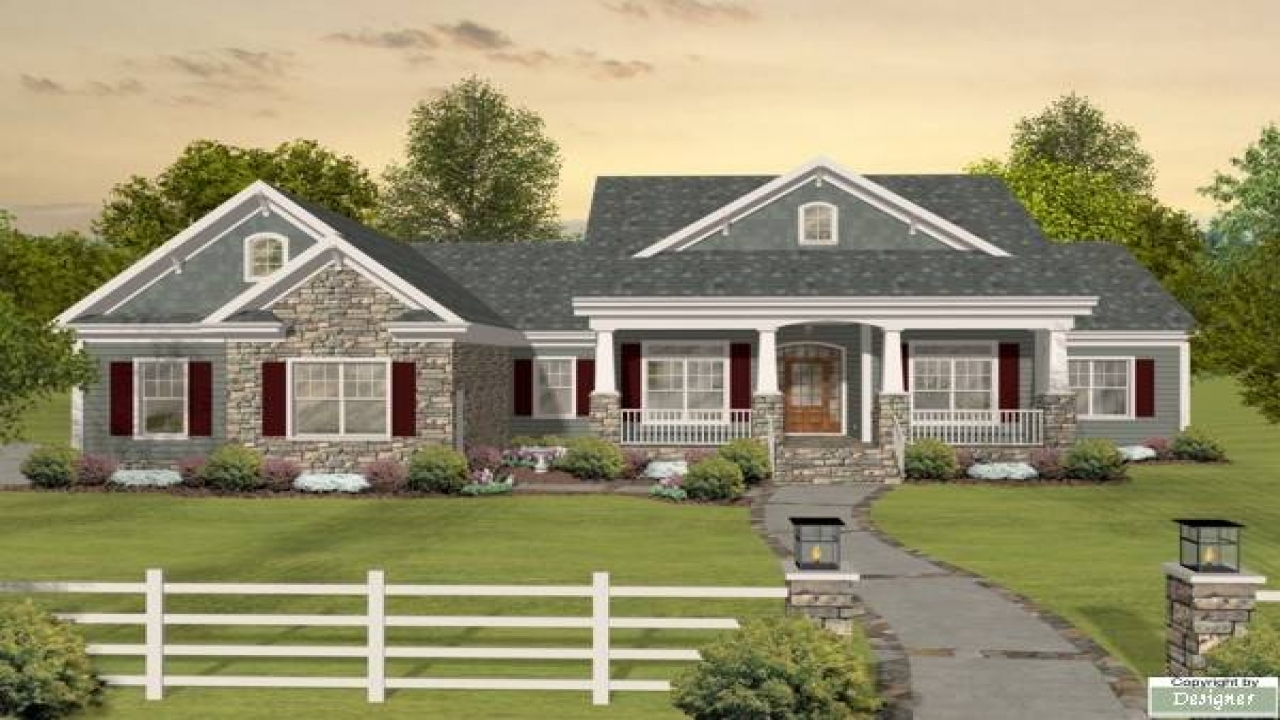one story craftsman style home plans craftsman one story ranch house plans one story house 27318