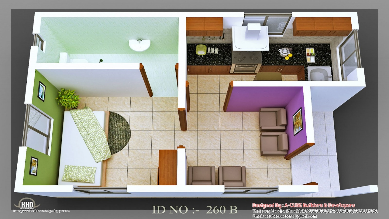 Micro homes living small floor plans small home plan house for Micro compact home floor plan